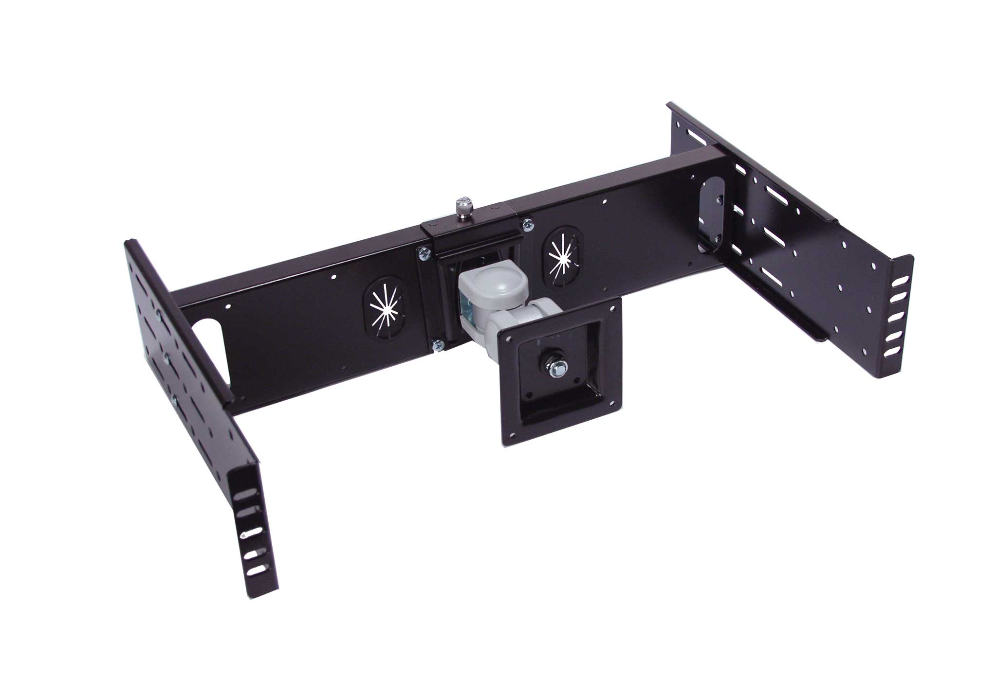 Lcd Rack Kit For A Standard 15 Monitor Up To 24 Computer Tv