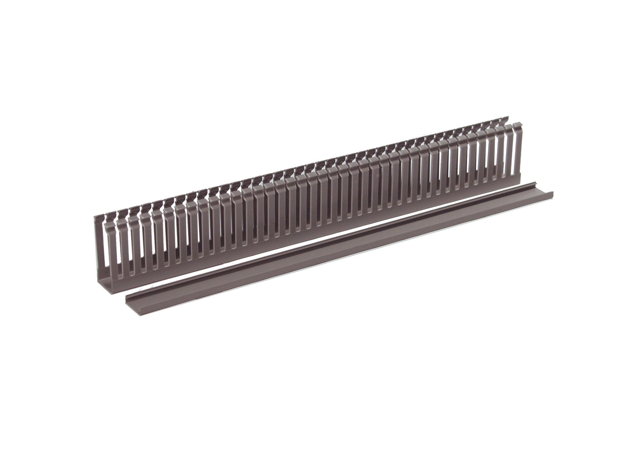 ECS2560 400mm Slotted Trunking Wire Management Duct