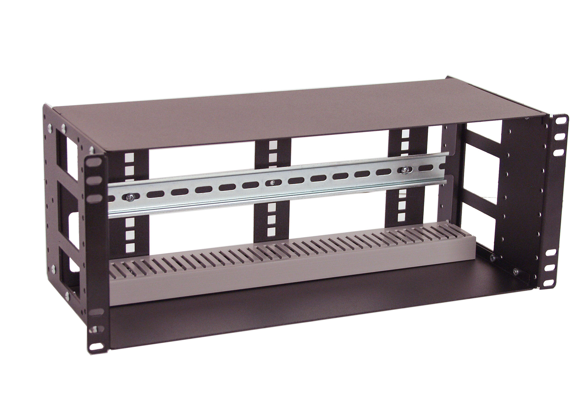 4u Din Rail Enclosure For Standard 19 Quot Rack