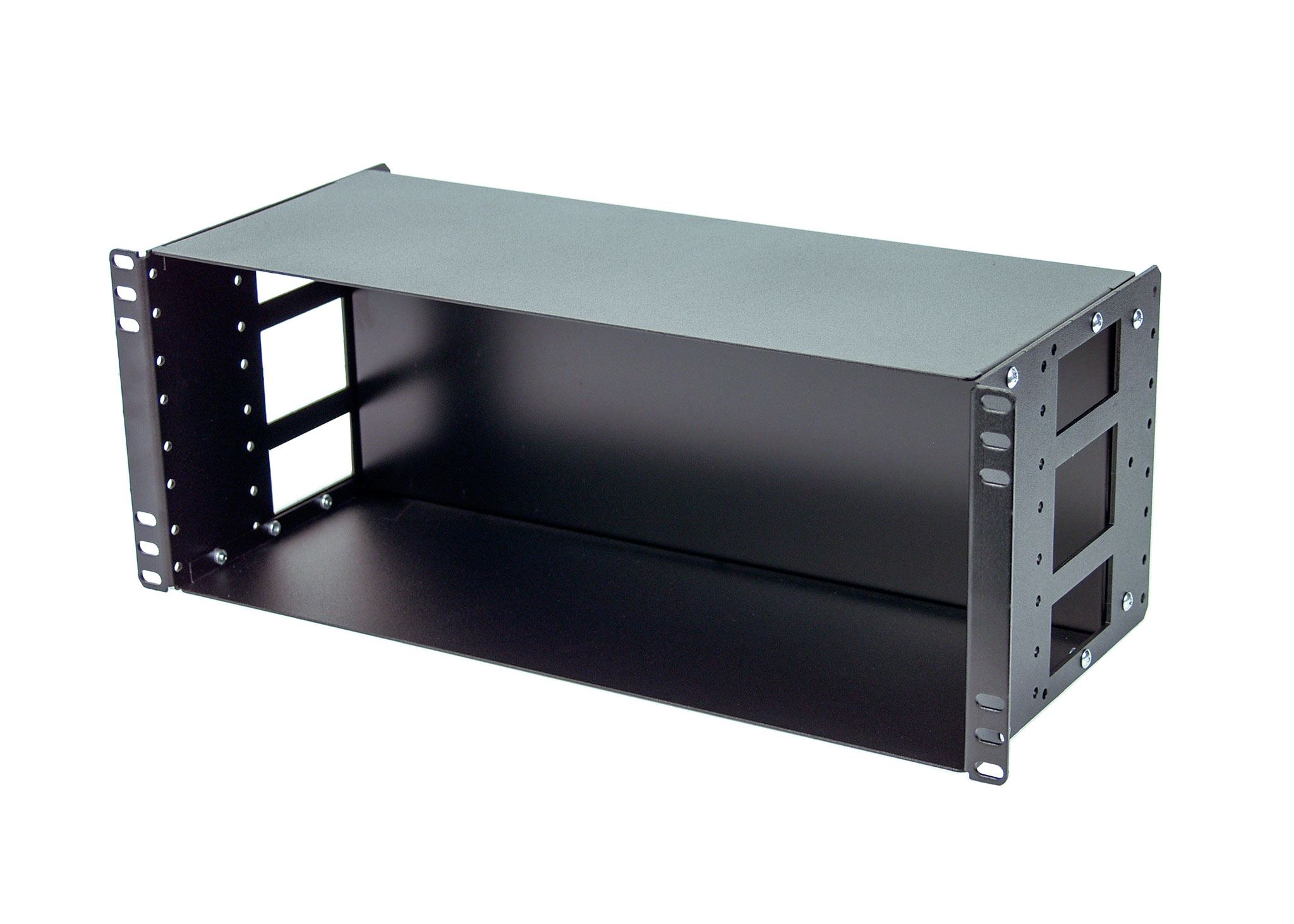 4U DIN Rail Enclosure for standard 19
